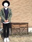 kaikunさんの「TAION V/NECK DOWN VEST(417 EDIFICE|フォーワンセブン エディフィス)」を使ったコーディネート