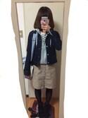 絢香さんの「キャンバストートバッグ(CIAOPANIC TYPY チャオパニックティピー)」を使ったコーディネート