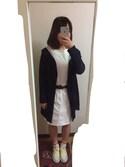 絢香さんの「キャンバストートバッグ(CIAOPANIC TYPY|チャオパニックティピー)」を使ったコーディネート