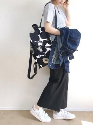 「【JAPAN EXCLUSIVE】Unikko / NIPPU(marimekko)」 using this てら looks