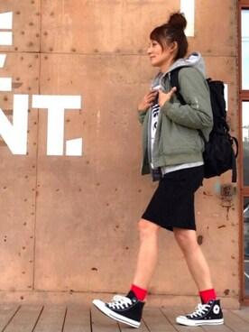 RIEさんの(adidas|アディダス)を使ったコーディネート
