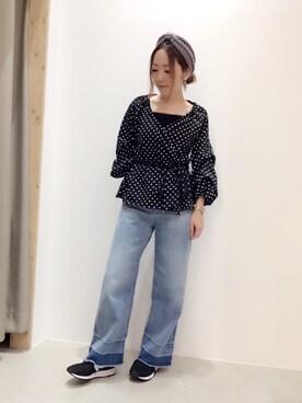 THE SHOP TK ららぽーと和泉|ga-riさんの「ニットターバン(THE SHOP TK)」を使ったコーディネート