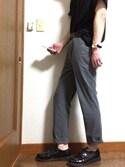 yuuuさんの「ドロップポケットカットソー(HARE)(HARE|ハレ)」を使ったコーディネート