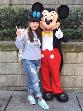 (Disney) using this みさと looks