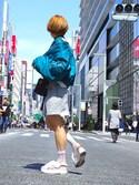 ヤマサキさんの「ショートボリューム MA-1(EMODA|ヴィヴィアンウエストウッド)」を使ったコーディネート