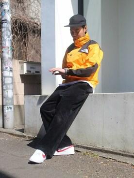 JOURNAL STANDARD 横浜店|志村 隼さんのキャップ「base MFG / ベースMFG  : 1-PANEL ACRILYC/WOOL(JOURNAL STANDARD|ジャーナルスタンダード)」を使ったコーディネート