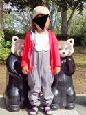 kohaaaaaaさんの「【GRIN BUDDY(グリンバディ)】キッズロゴキャップ/Kids Sim Logo Cap(GRIN BUDDY|グリンバディ)」を使ったコーディネート