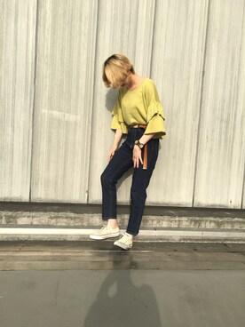 ViS 札幌ステラプレイス|湯野 聖加さんのコーディネート