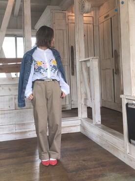 me☆さんの(URBAN RESEARCH DOORS WOMENS アーバンリサーチ ドアーズ ウィメンズ)を使ったコーディネート