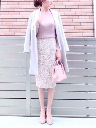 「STUDIOUS ライトコクーンチェスターコート(STUDIOUS)」 using this honon looks