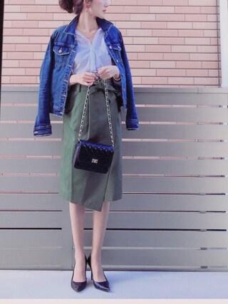 「【PLAIN CLOTHING】キルティングショルダーバッグ/ポシェット(PLAIN CLOTHING)」 using this honon looks