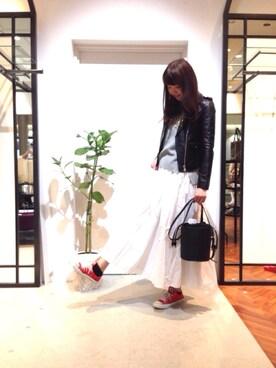 INTERPLANET 堺北花田店 yさんの「Cローンマキシスカート(INTERPLANET WINGS)」を使ったコーディネート