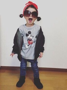 ♡Haaachan♡さんの(UNIQLO|ユニクロ)を使ったコーディネート