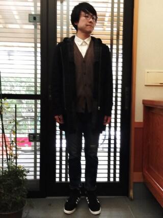 kotaro tsunekawaさんの「オリジナルス 日本モデル キャンパス80s[CP 80s JAPAN PACK VNTG](adidas|アディダス)」を使ったコーディネート
