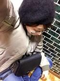 Likoさんの「メタルブリッジボストン型ダテメガネ(AZUL by moussy|アズールバイマウジー)」を使ったコーディネート
