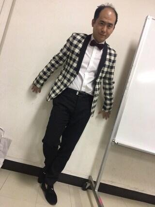 トレンディエンジェル 斎藤さんの(ZARA MAN)を使ったコーディネート