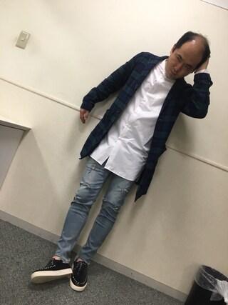 トレンディエンジェル 斎藤さんの(GGD|ジージーディー)を使ったコーディネート