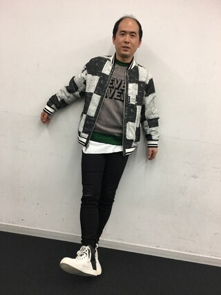 (ハゲ) using this トレンディエンジェル 斎藤 looks