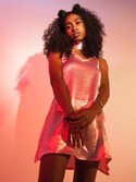 「Glamorous Lina Satin Slip Dress(Glamorous)」 using this Anjie looks