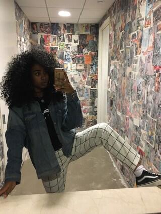 「Vans Old Skool Canvas and Suede Sneakers(Vans)」 using this Anjie looks