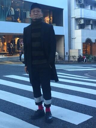 MIDWEST TOKYO MEN|AKKYさんの(KRIS VAN ASSCHE|クリスヴァンアッシュ)を使ったコーディネート