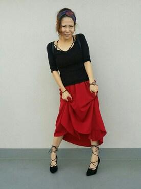 しゃおさんの(mika ninagawa|ミカ ニナガワ)を使ったコーディネート