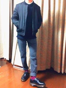 yuyaさんの「アゼアミニットクルー/530560(RAGEBLUE|レイジブルー)」を使ったコーディネート