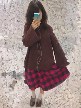 Saki  Kawakamiさんの(EMODA|エモダ)を使ったコーディネート