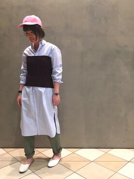 ビューティ&ユース ユナイテッドアローズ 立川立飛店 Kaori Shimomuraさんの(BEAUTY&YOUTH UNITED ARROWS ビューティアンドユースユナイテッドアローズ)を使ったコーディネート