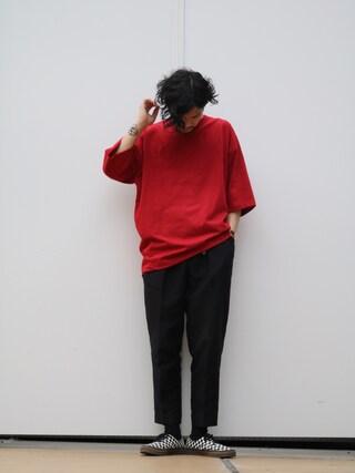 Lui's 池袋店|downeyさんの「7分袖BIG Tシャツ(Lui's|ルイス)」を使ったコーディネート