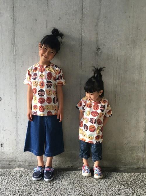 8a8a8bf8debced アンパンマンキッズコレクション(ANPANMAN KIDS COLLECTION)|ANPANMAN KIDS COLLECTIONのTシャツ/カットソーを使ったコーディネート  - WEAR