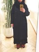 aikoさんの「キュプラパジャマパンツ(ADAM ET ROPE'|アダム エ ロペ)」を使ったコーディネート