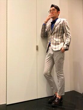 TRANS CONTINENTS 銀座ベルビア店|ryoさんの(TRANS CONTINENTS|トランスコンチネンツ)を使ったコーディネート