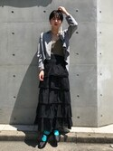kana takase is wearing VINTAGE