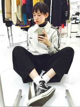 KAKA☆VAKA 大阪店|yuiさんの(adidas|アディダス)を使ったコーディネート