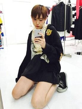 KAKA☆VAKA 大阪店|yuiさんの(CONVERSE|コンバース)を使ったコーディネート
