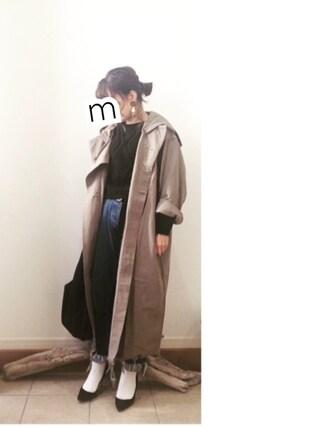 ru_nuunさんの「MILITARY LONG CHUBBY JK(AMERI|アメリヴィンテージ)」を使ったコーディネート