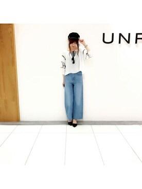 UNRELISH 本社|UNRELISH OFFICIALさんの(UNRELISH|アンレリッシュ)を使ったコーディネート