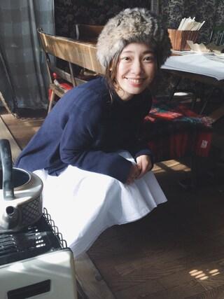 阿久津ゆりえさんの(CA4LA|カシラ)を使ったコーディネート
