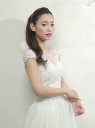 阿久津ゆりえさんの(bridal)を使ったコーディネート