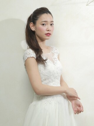 (bridal) using this 阿久津ゆりえ looks