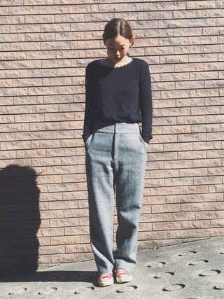 「COL ROND CROCHET 17P(A.P.C.)」 using this 阿久津ゆりえ looks