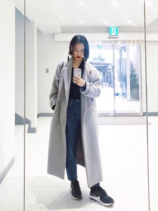 「【GISELe11月号掲載】SOFIE WOOL COAT(SLY)」 using this ARISA looks