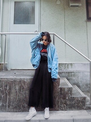 「HAND DOWN Remake BZ(MOUSSY)」 using this ARISA looks