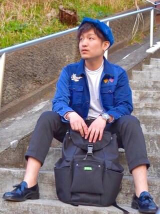 m i c h u 🍖さんの「【WEB限定予約】【大人気ユニセックス商品】S-MJ-16208(ROSE BUD COUPLES|ローズ バッド カップルズ)」を使ったコーディネート