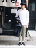 keigoさんの「【LACOSTE】polo classic fit(LACOSTE|ラコステ)」を使ったコーディネート