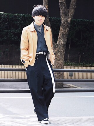 「<NEEDLES> STN SPORT JKT/スポーツジャケット(Needles)」 using this STUDIOUS ルミネ池袋店|Ryo looks