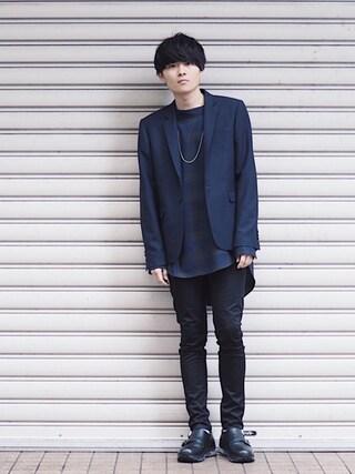 STUDIOUS ルミネ池袋店|Ryoさんの(LAD MUSICIAN|ラッドミュージシャン)を使ったコーディネート
