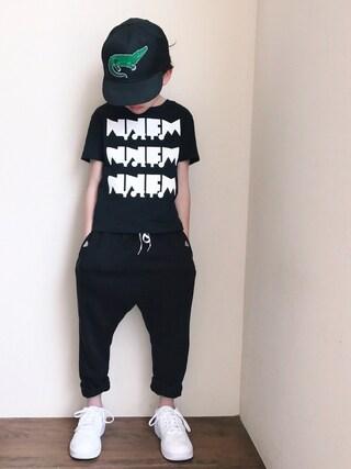 「サルエル9分丈パンツ(SWAP MEET MARKET)」 using this Amaton looks