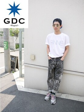 GDCTOKYO -HARA│GDCのTシャツ/カットソーコーディネート